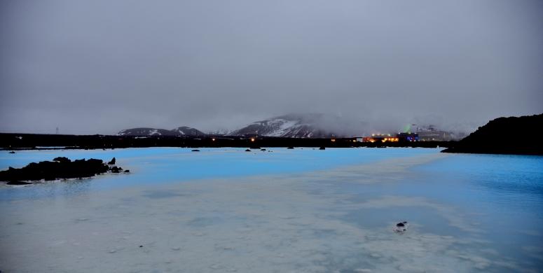 Blue Lagoon Bláa lónið Iceland spa silica algae