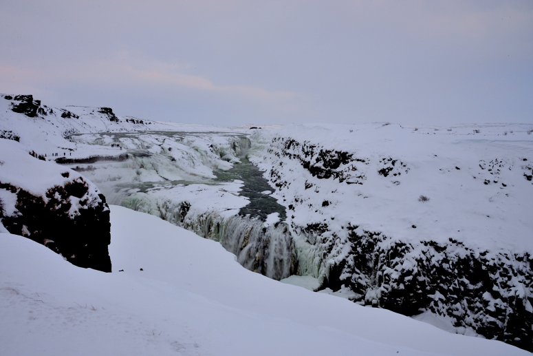 Gullfoss Golden Circle Iceland waterfall