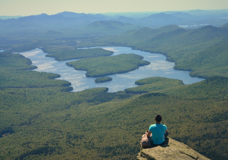 Discovering tranquility above Lake Placid, at the summit of Whiteface Mountain