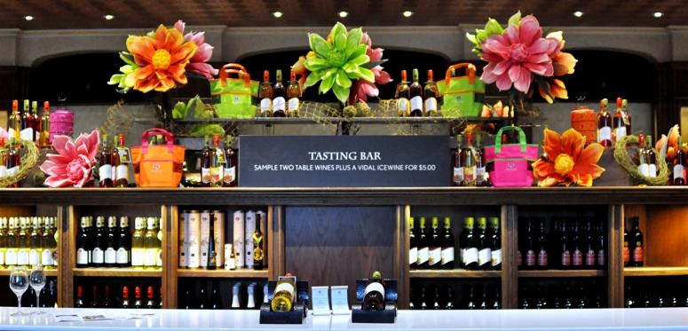 Reif Estate winery tasting room