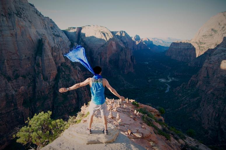 DNXB dongnanxibei Angel's Landing Zion National Park Hike Climb Utah