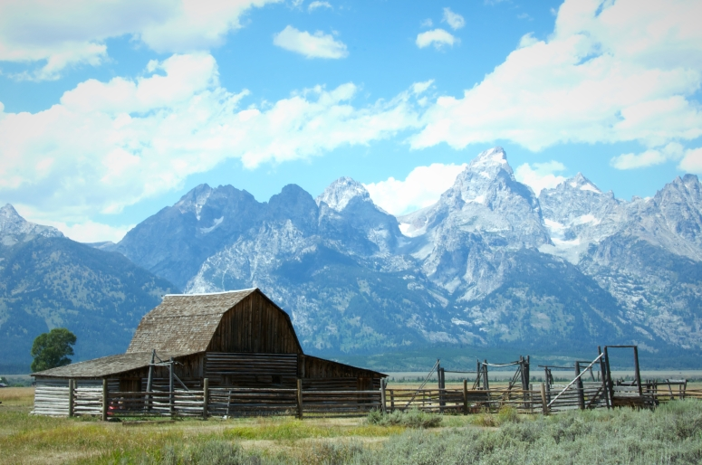 DNXB dongnanxibei Moulton Barn Mormon Row Grand Teton National Park