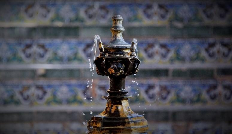 DNXB dongnanxibei fountain Seville Sevilla Alcazar Moorish