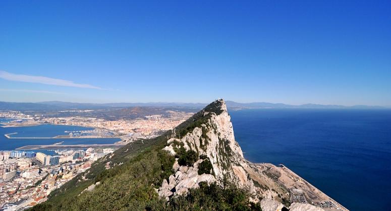 DNXB dongnanxibei Gibraltar Rock Spain Andalucia