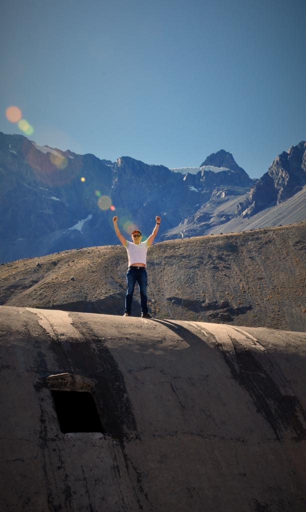 Enbalse el Yeso Victory Abandoned barricks mining Chile Santiago Maipo Valley Canyon Cajun DNXB dongnanxibei