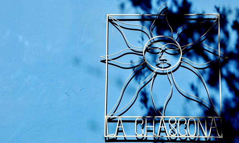 La Chascona Pablo Naruda Chile Santiago Cerro San Cristobal Blue DNXB dongnanxibei D90 Nikon