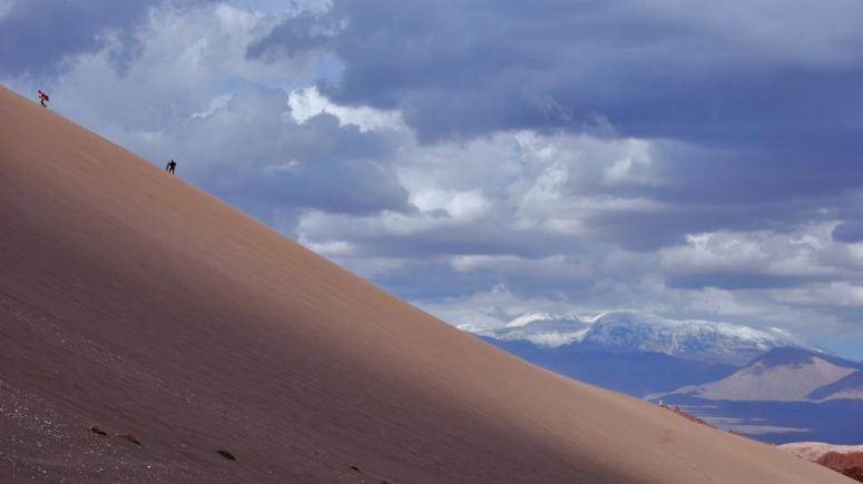 Sandboard sand board Atacama San Pedro Valle de la Luna Muerte DNXB dongnanxibei Nikon D90