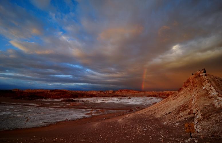 Valle de la Luna Sunset Atacama desert Nikon D90 CosmoAndino dongnanxibei DNXB
