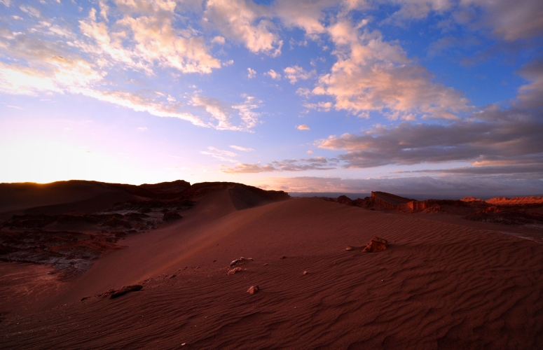 Valle de la Luna sunset sand dunes sunrise colors Nikon D90 DNXB dongnanxibei Atacama desert San Pedro chile