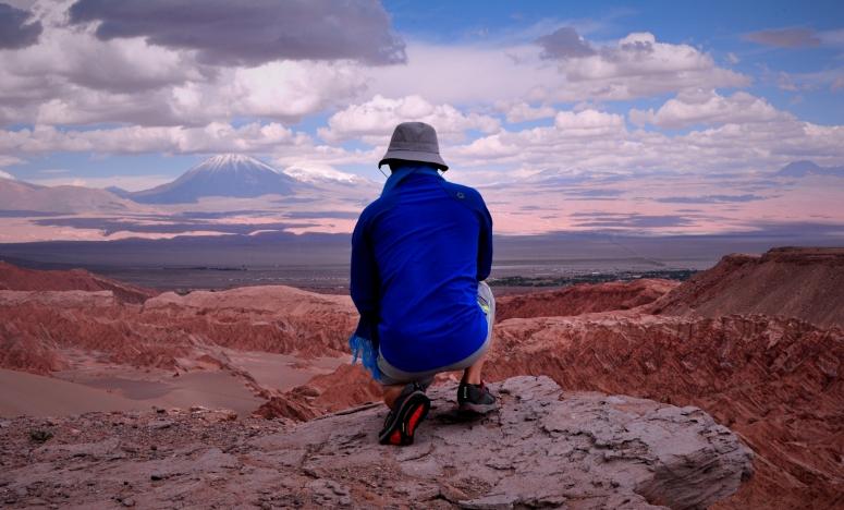 Valle de la Muerte Luna volcano Atacama desert D90 Nikon DNXB dongnanxibei