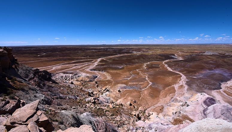 Petrified Blue Mesa
