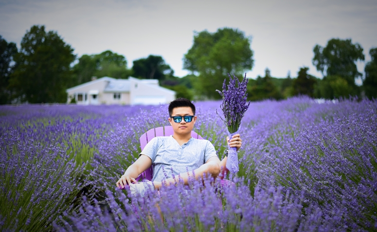 Lavender By The Bay Bouquet North Fork Long Island Nikon Photography DNXB dongnanxibei