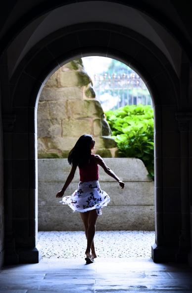 Hidden archways in a Zurich cathedral