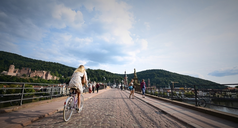 Heidelberg Bridge Bike