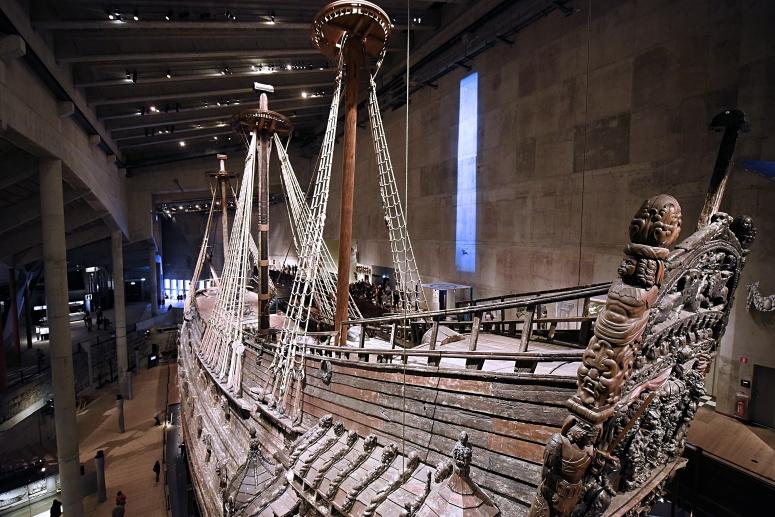 Vasamuseet Vasa Museum Boat Ship Stockholm DNXB dongnanxibei