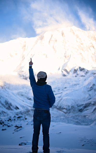 Cheers to you, Annapurna I - 10th tallest in the world
