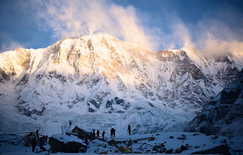 Annapurna I Summit 8000m DNXB dongnanxibei Annapurna Base Camp