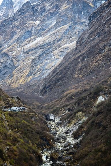 Deurali against the impossibly large slopes