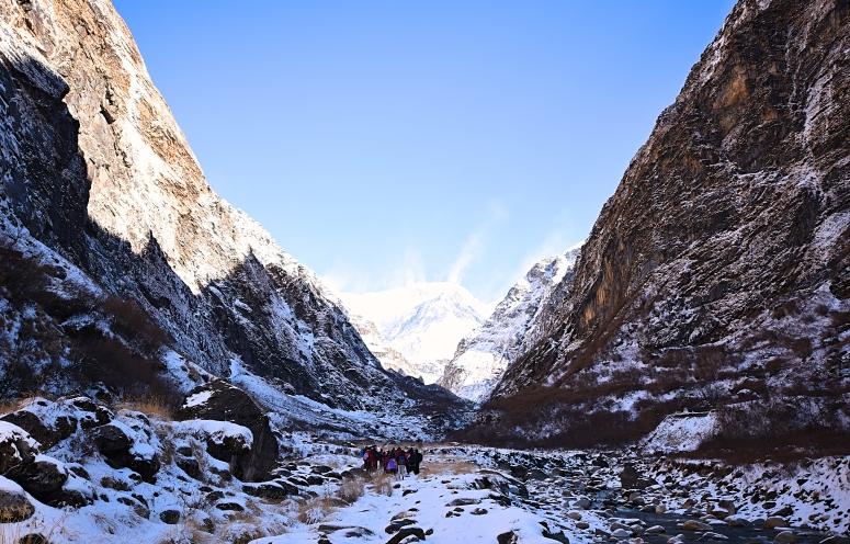 Deurali Canyon DNXB dongnanxibei Annapurna Base Camp