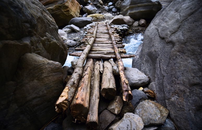 River Ladder Nepal Trek DNXB dongnanxibei Annapurna Base Camp