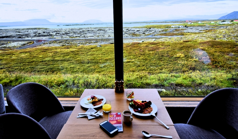 Breakfast Fosshotel Myvatn Lake Iceland Ring Road DNXB dongnanxibei