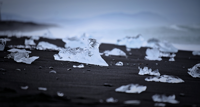 Diamond Beach Jokulsarlon Iceland Ice Glacier DNXB dongnanxibei