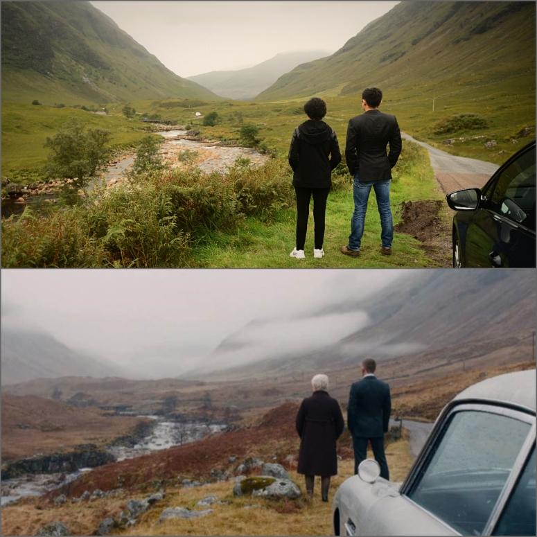 Glen Etive Skyfall 007 Scotland Highlands Coe DNXB dongnanxibei