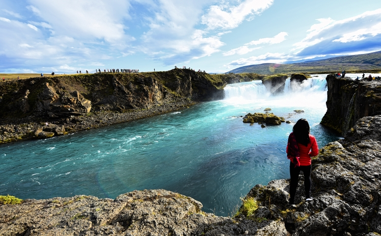 Godafoss Iceland North DNXB dongnanxibei
