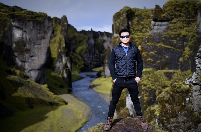 Will Fjadrargljufur Moss Canyon Southern Iceland DNXB dongnanxibei