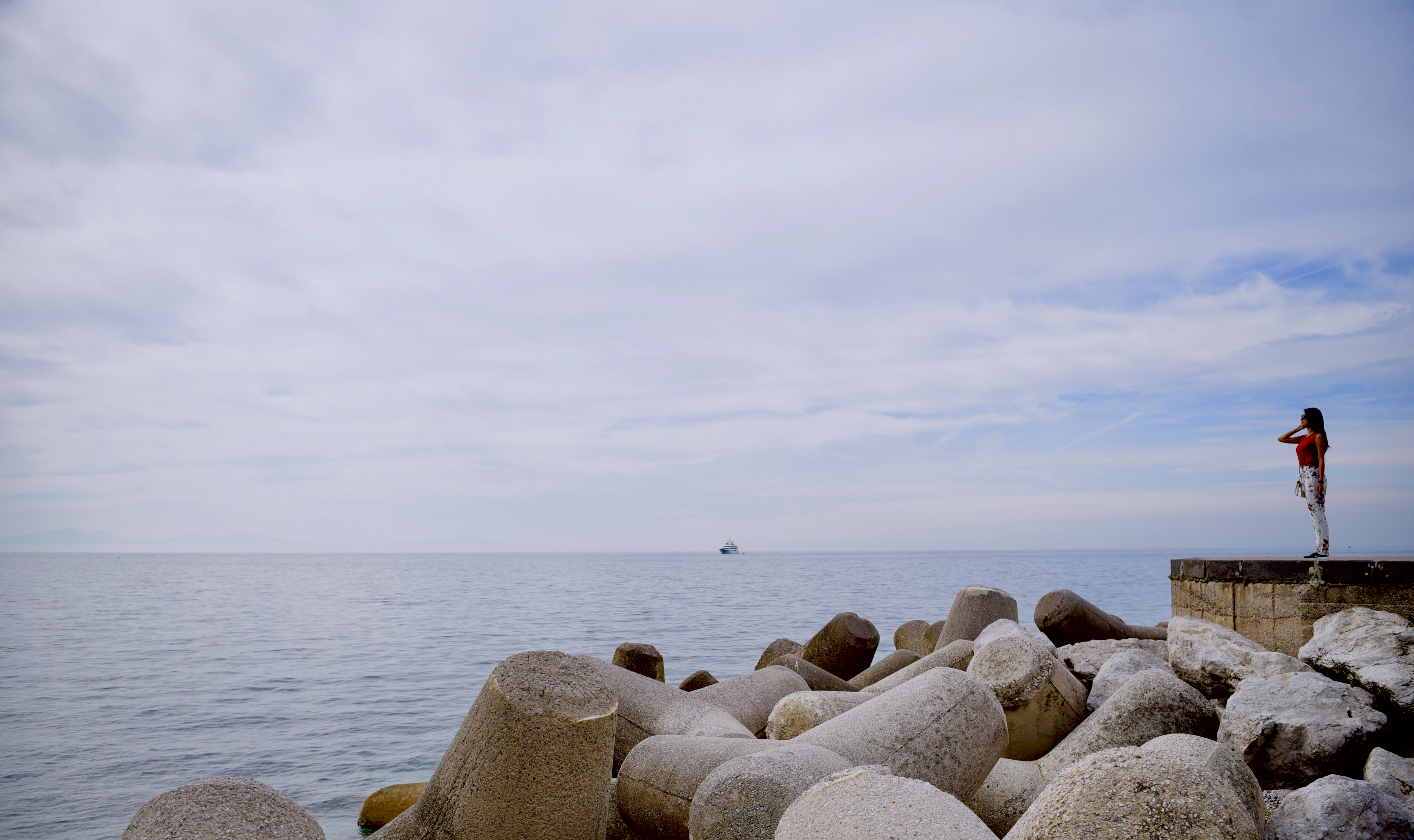 Amalfi Marina Boat Infinite Coast Dock DNXB dongnanxibei