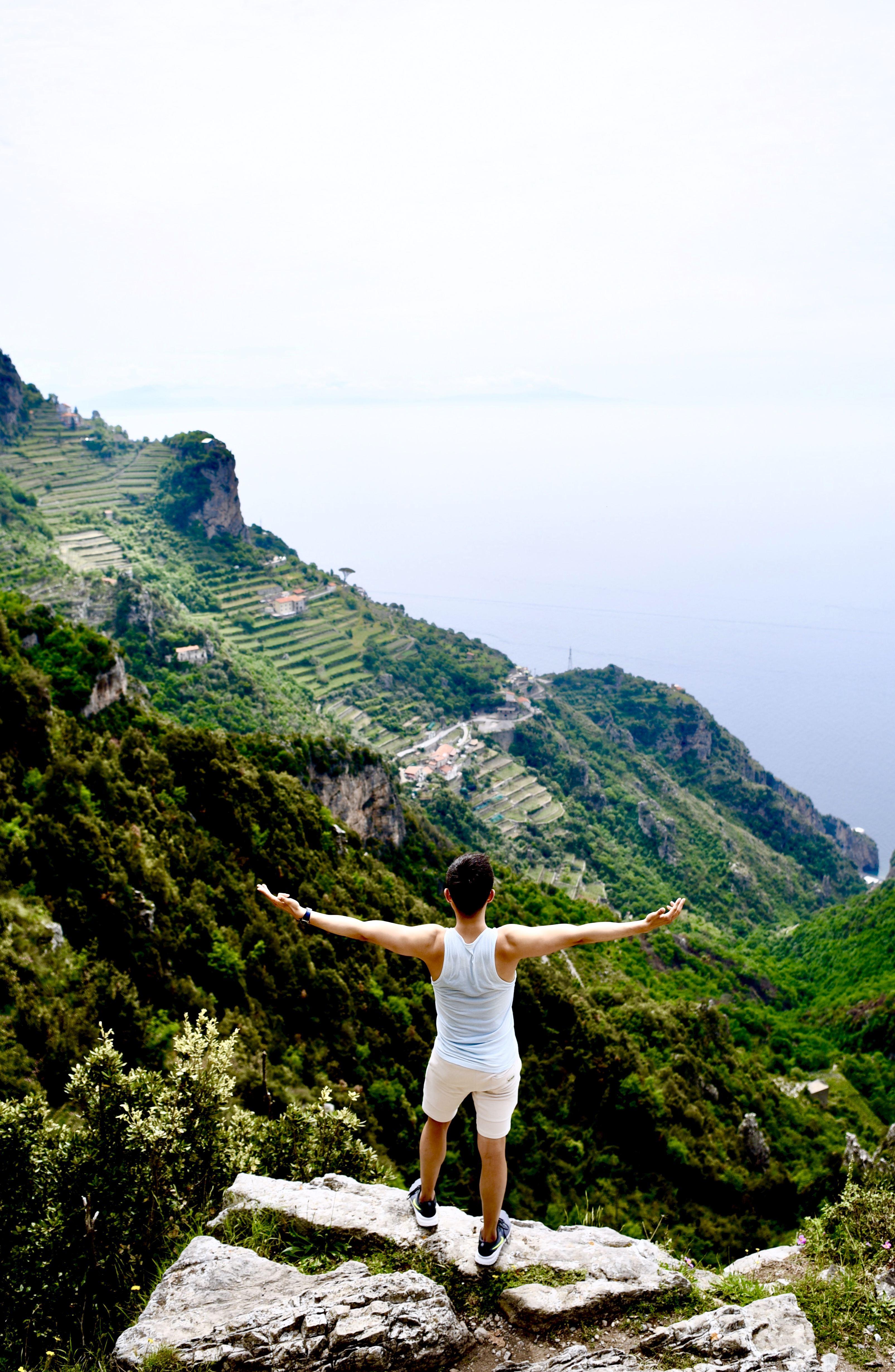 Sentiero Degli Dei Outlook Arms Positano Amalfi Coast DNXB dongnanxibei