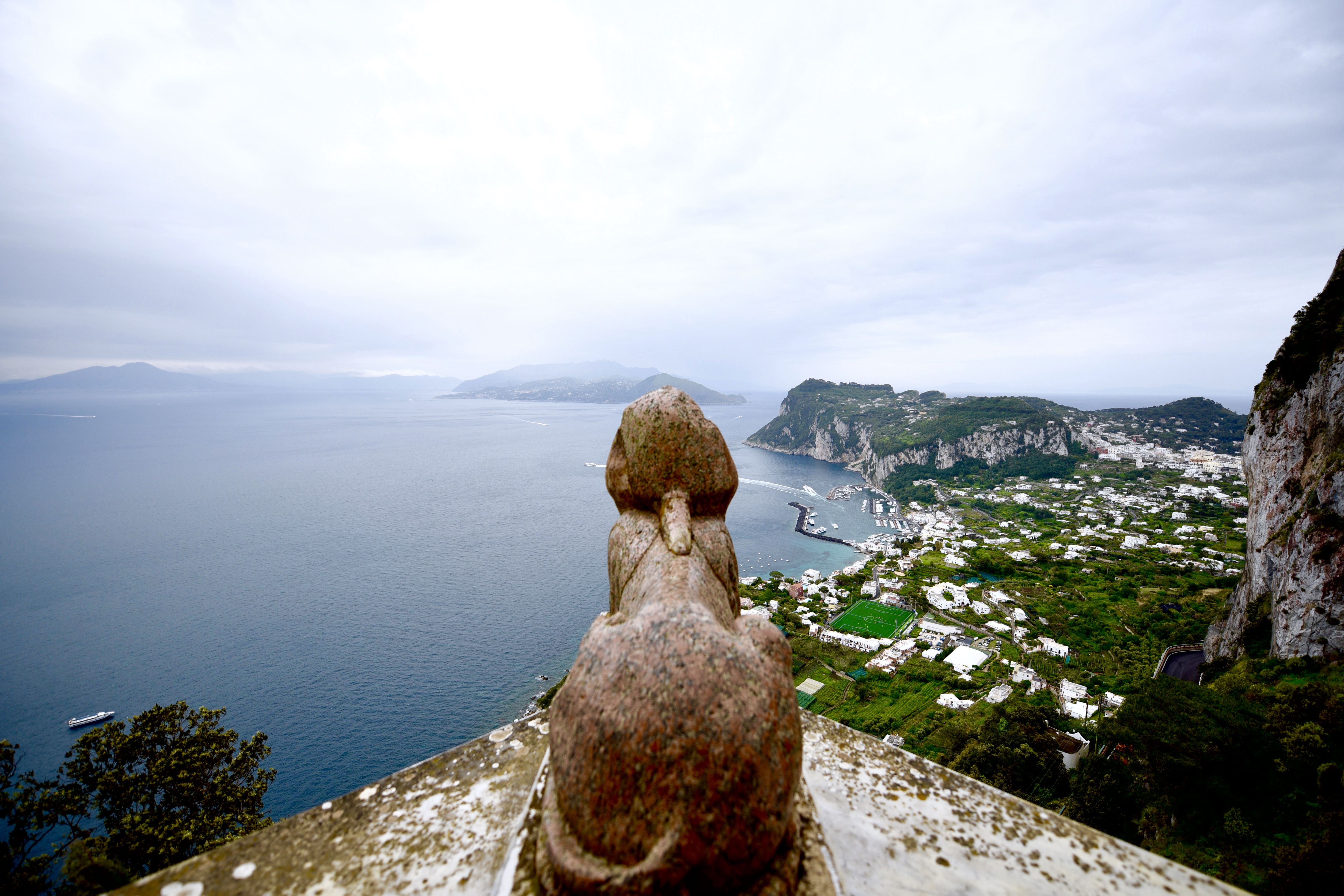 Villa San Michele Capri Sphinx Amalfi Coast Anacapri Italy DNXB dongnanxibei